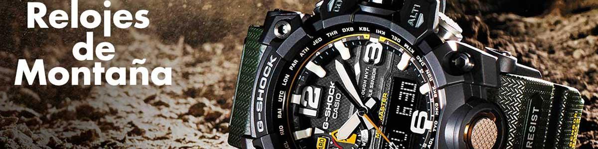 relojes de montaña y alta montaña