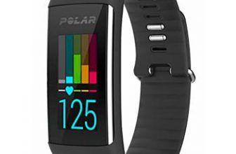 comprar pulsera polar a360 negra