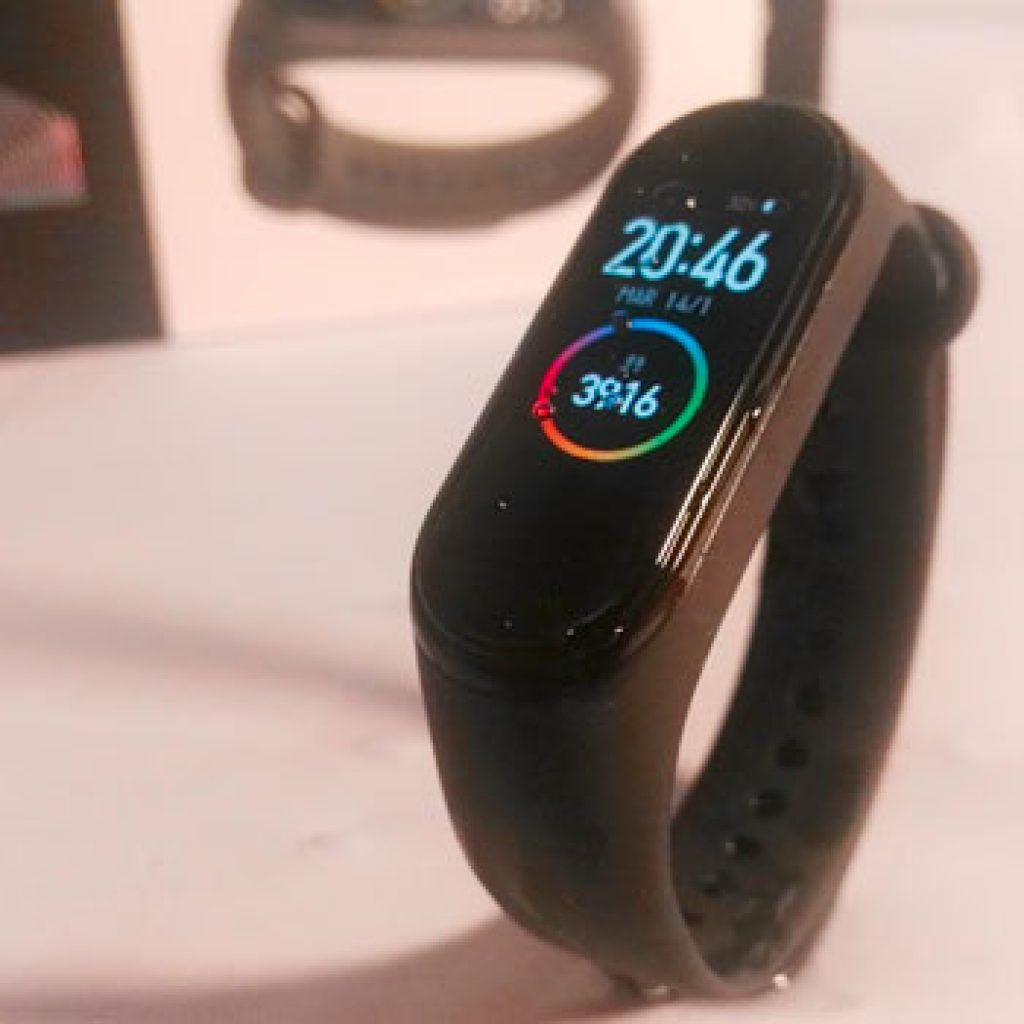 xiaomi mi band 4 sumergible