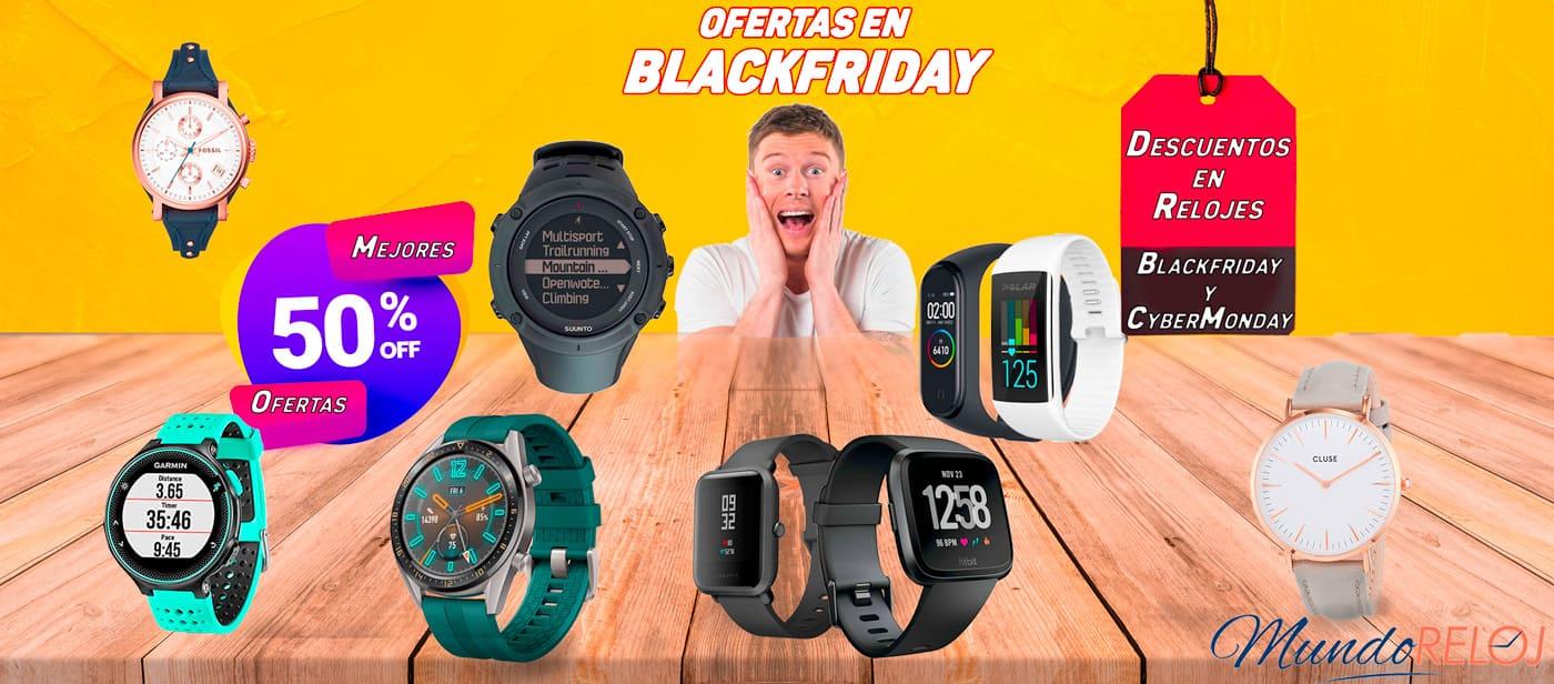 ofertas en relojes blackfriday y cybermonday