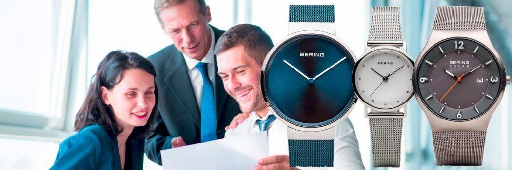 relojes bering para hombre y mujer
