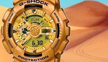Relojes Casio G-Shock Dorado