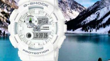 Reloj Casio G-Shock Blanco